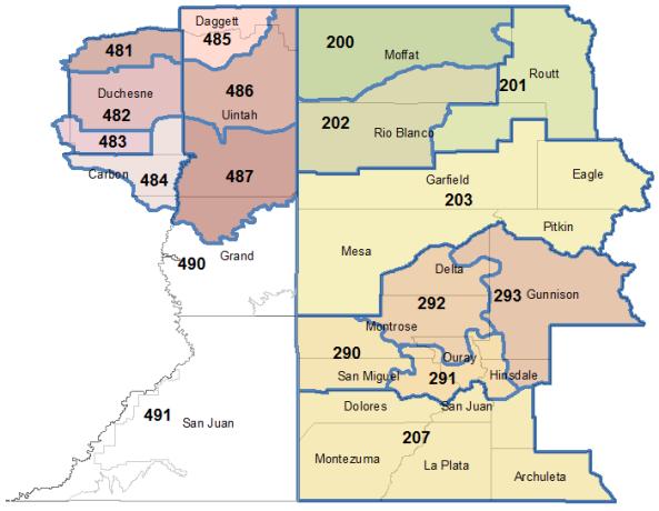 Grand Junction Weather fire zones