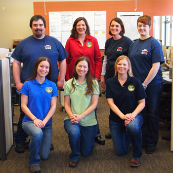 Photo of TIDC staff