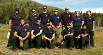 Photo of 2012 fuels crew