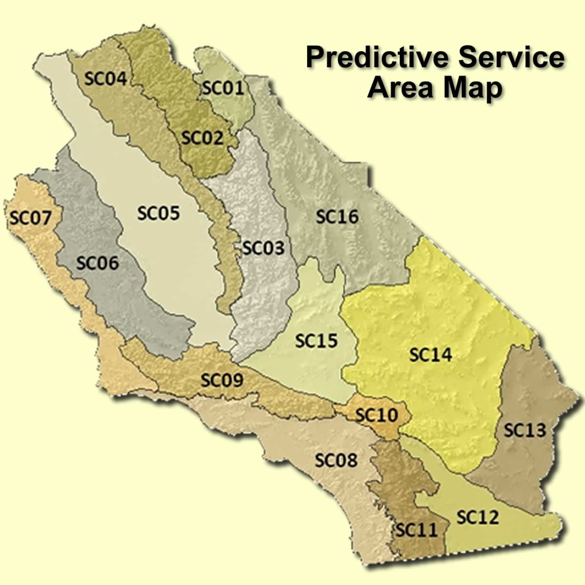 California Map Southern Ca.Southern California Geographic Area Coordination Center Oscc