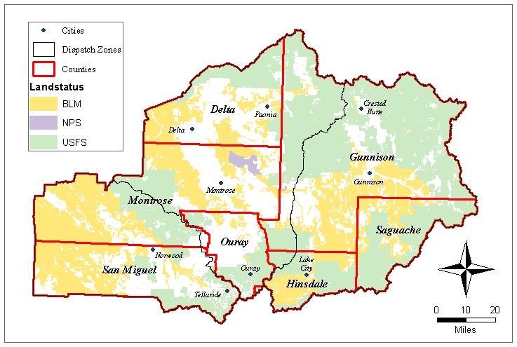 Montrose Interagency Dispatch Center Mtc Fire Restrictions