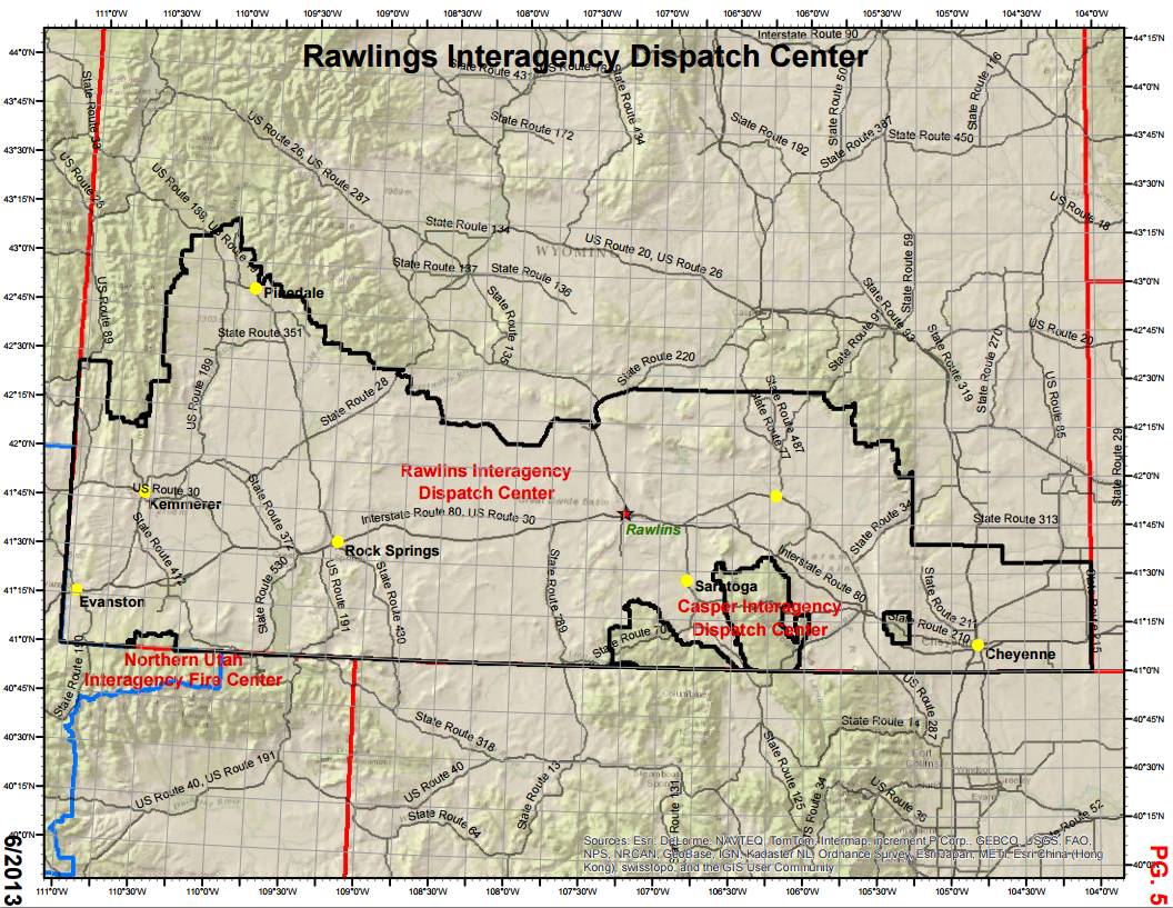 Rawlins Interagency Dispatch Center (RWC) - Maps on transmission maps, data maps, shipping maps, service maps, inventory maps, jail maps,