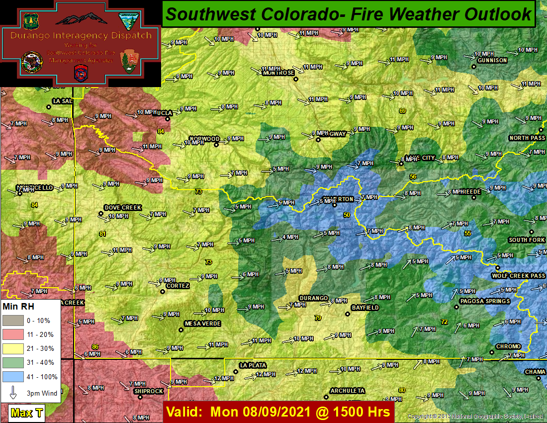 Day 2 Fire Weather Outlook