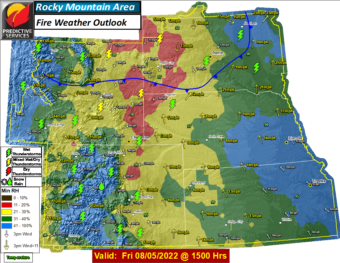 Day 1 Fire Weather Outlook