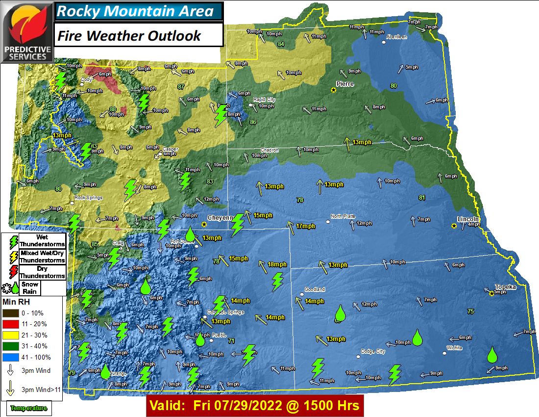 Day 3 Fire Weather Outlook