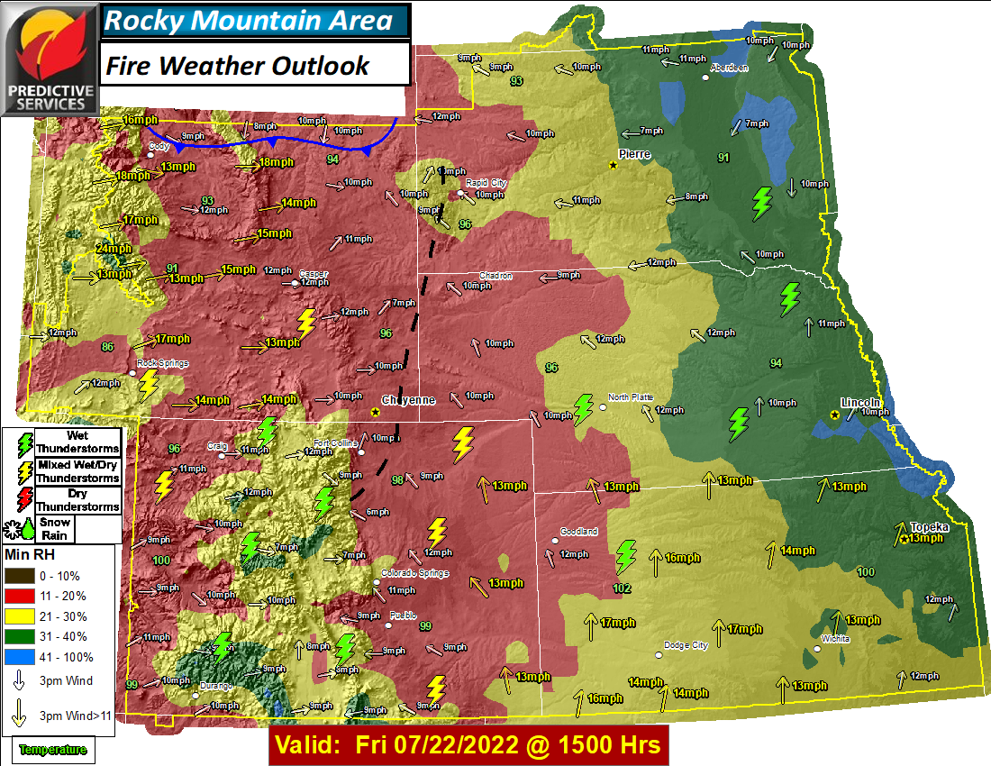 Day 4 Fire Weather Outlook