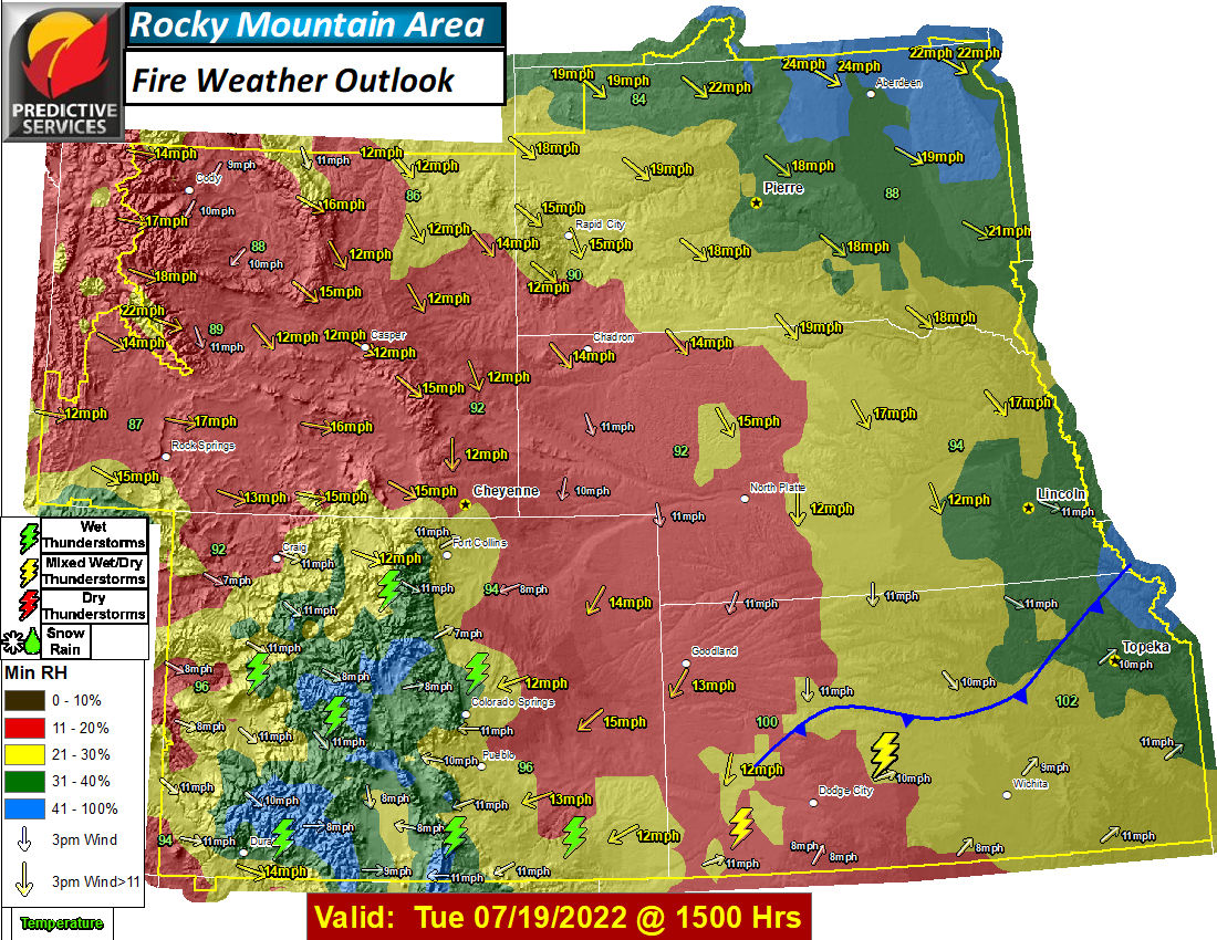 Day 5 Fire Weather Outlook