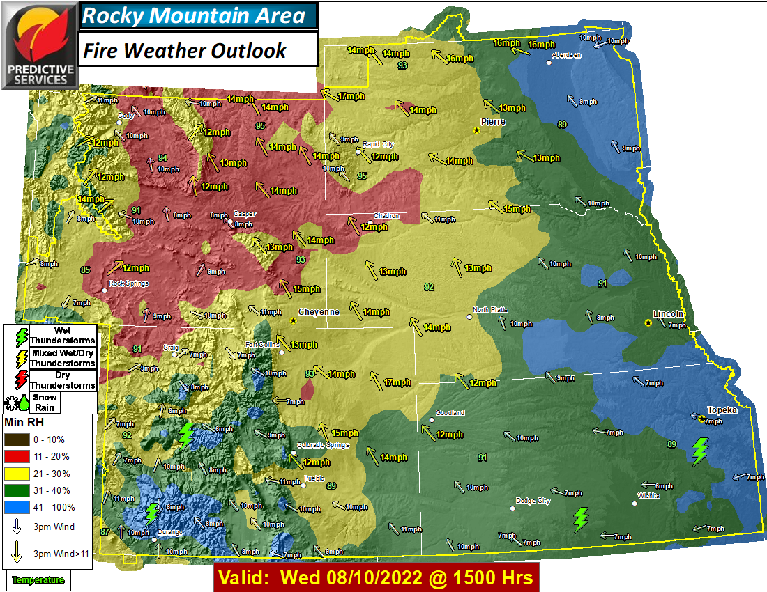 Day 6 Fire Weather Outlook