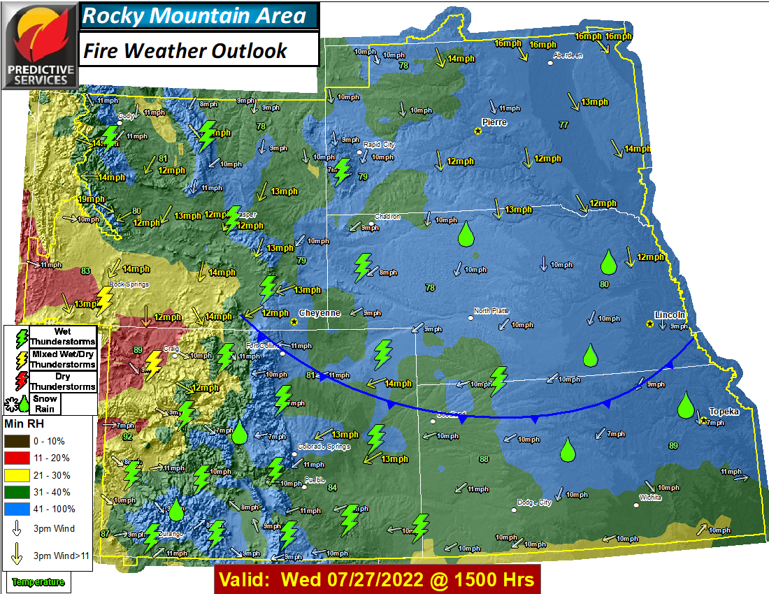 Day 7 Fire Weather Outlook